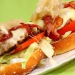 Végh-Pataki Rétesház és Szendvics Mekka: Mega mekka burger