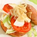 Végh-Pataki Rétesház és Szendvics Mekka: Vegetáriánus burger